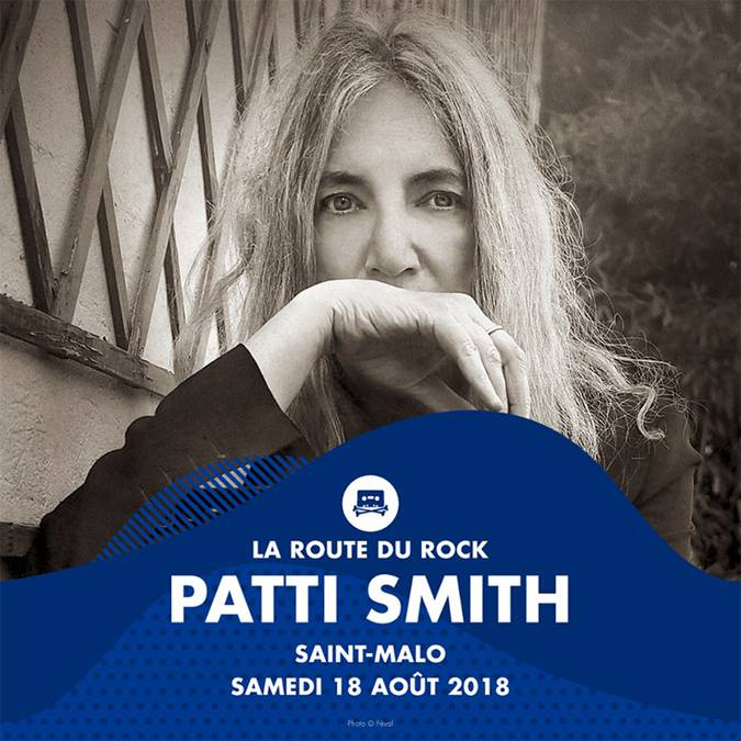 Patti Smith - Route du Rock
